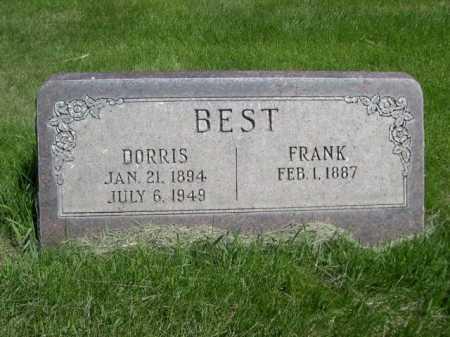 BEST, FRANK - Dawes County, Nebraska | FRANK BEST - Nebraska Gravestone Photos