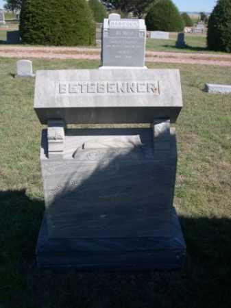 BETEBENNER, ELIZABETH - Dawes County, Nebraska   ELIZABETH BETEBENNER - Nebraska Gravestone Photos