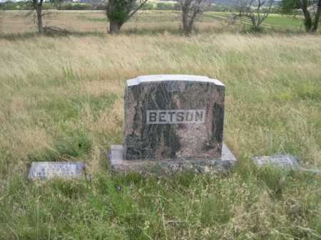 BETSON, WILLIAM H. - Dawes County, Nebraska | WILLIAM H. BETSON - Nebraska Gravestone Photos
