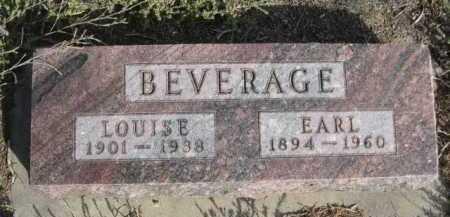 BEVERAGE, EARL - Dawes County, Nebraska | EARL BEVERAGE - Nebraska Gravestone Photos