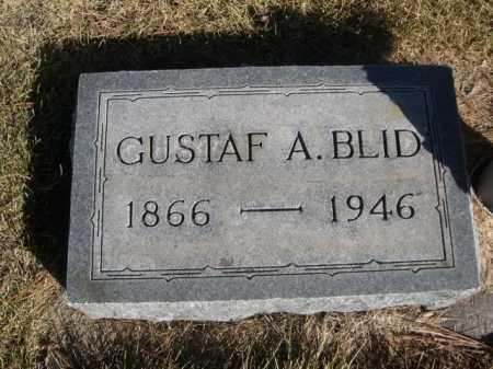 BLID, GUSTAF A. - Dawes County, Nebraska | GUSTAF A. BLID - Nebraska Gravestone Photos