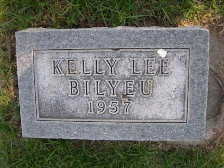 BILYEU, KELLY LEE - Dawes County, Nebraska | KELLY LEE BILYEU - Nebraska Gravestone Photos