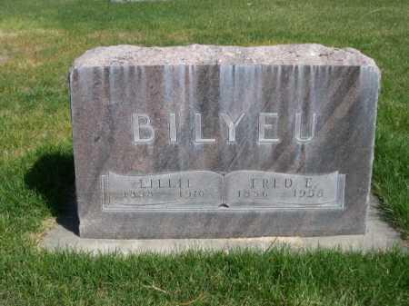 BILYEU, FRED E. - Dawes County, Nebraska | FRED E. BILYEU - Nebraska Gravestone Photos