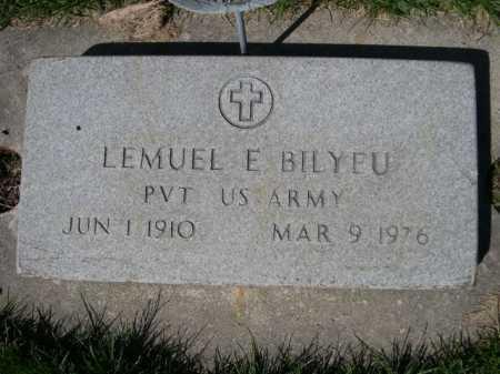 BILYEU, LEMUEL E. - Dawes County, Nebraska | LEMUEL E. BILYEU - Nebraska Gravestone Photos