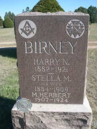 BIRNEY, HARRY N. - Dawes County, Nebraska | HARRY N. BIRNEY - Nebraska Gravestone Photos