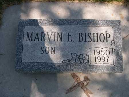BISHOP, MARVIN E. - Dawes County, Nebraska | MARVIN E. BISHOP - Nebraska Gravestone Photos