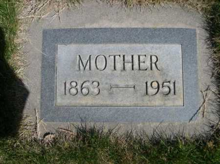BISPING, MOTHER - Dawes County, Nebraska   MOTHER BISPING - Nebraska Gravestone Photos