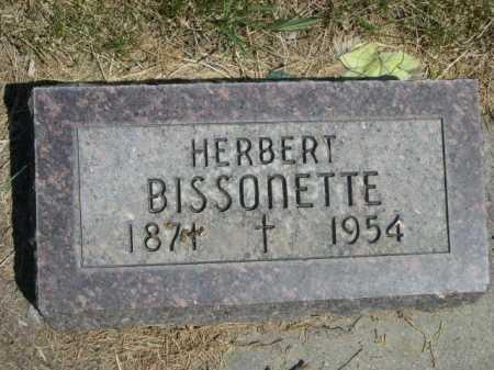 BISSONETTE, HERBERT - Dawes County, Nebraska | HERBERT BISSONETTE - Nebraska Gravestone Photos
