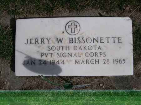 BISSONETTE, JERRY W. - Dawes County, Nebraska | JERRY W. BISSONETTE - Nebraska Gravestone Photos
