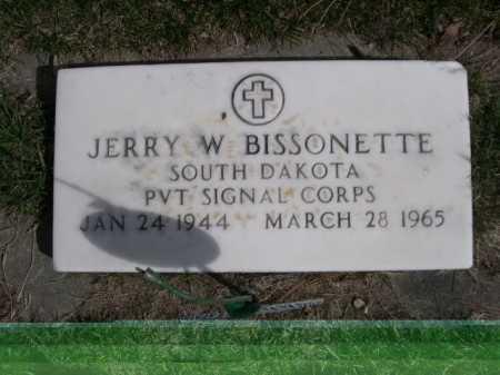 BISSONETTE, JERRY W. - Dawes County, Nebraska | JERRY W. BISSONETTE - Nebraska Gravestone Photos