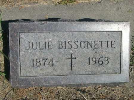 BISSONETTE, JULIE - Dawes County, Nebraska   JULIE BISSONETTE - Nebraska Gravestone Photos
