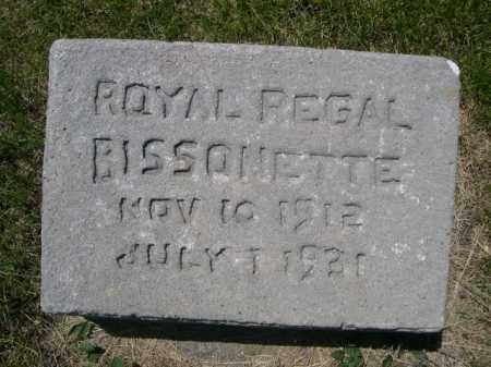 BISSONETTE, ROYAL REGAL - Dawes County, Nebraska | ROYAL REGAL BISSONETTE - Nebraska Gravestone Photos