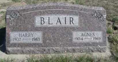 BLAIR, AGNES - Dawes County, Nebraska | AGNES BLAIR - Nebraska Gravestone Photos