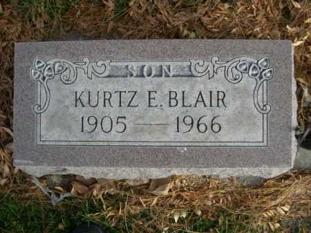 BLAIR, KURTZ E. - Dawes County, Nebraska | KURTZ E. BLAIR - Nebraska Gravestone Photos