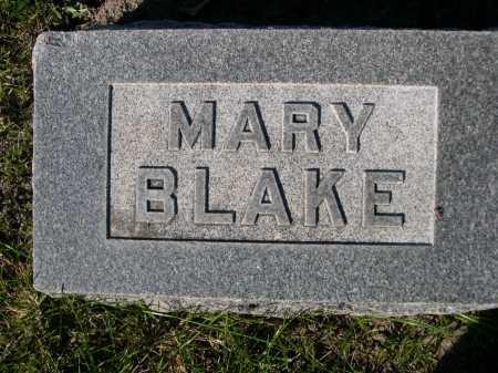 BLAKE, MARY - Dawes County, Nebraska | MARY BLAKE - Nebraska Gravestone Photos