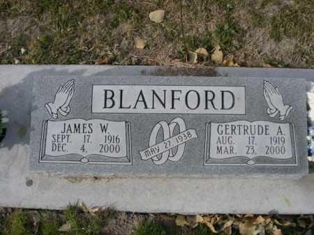 BLANFORD, GERTRUDE A. - Dawes County, Nebraska | GERTRUDE A. BLANFORD - Nebraska Gravestone Photos