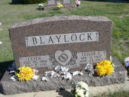 BLAYLOCK, CLYDE - Dawes County, Nebraska   CLYDE BLAYLOCK - Nebraska Gravestone Photos