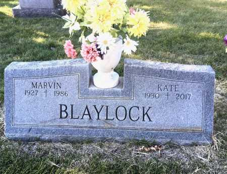 BLAYLOCK, MARVIN - Dawes County, Nebraska | MARVIN BLAYLOCK - Nebraska Gravestone Photos
