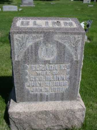 BLINN, ELZADA E. - Dawes County, Nebraska   ELZADA E. BLINN - Nebraska Gravestone Photos