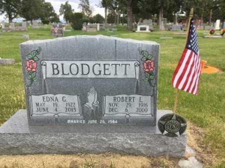 BLODGETT, ROBERT L. - Dawes County, Nebraska   ROBERT L. BLODGETT - Nebraska Gravestone Photos