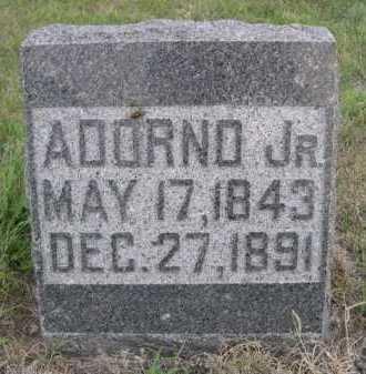 BLOOD, ADORNO JR. - Dawes County, Nebraska | ADORNO JR. BLOOD - Nebraska Gravestone Photos