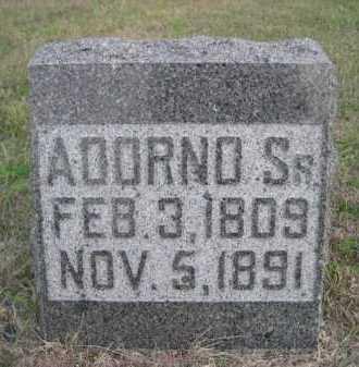 BLOOD, ADORNO SR. - Dawes County, Nebraska | ADORNO SR. BLOOD - Nebraska Gravestone Photos