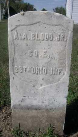 BLOOD, A.A. JR. - Dawes County, Nebraska | A.A. JR. BLOOD - Nebraska Gravestone Photos