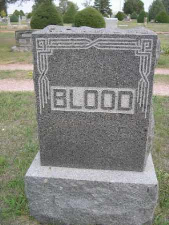 BLOOD, FAMILY - Dawes County, Nebraska | FAMILY BLOOD - Nebraska Gravestone Photos