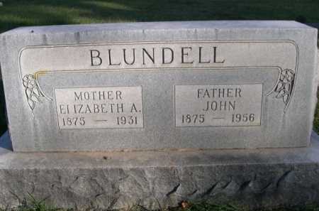 BLUNDELL, JOHN - Dawes County, Nebraska | JOHN BLUNDELL - Nebraska Gravestone Photos