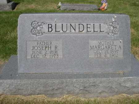 BLUNDELL, MARGARET A. - Dawes County, Nebraska | MARGARET A. BLUNDELL - Nebraska Gravestone Photos
