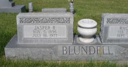 BLUNDELL, JASPER R. - Dawes County, Nebraska | JASPER R. BLUNDELL - Nebraska Gravestone Photos