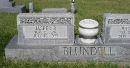 BLUNDELL, JASPER R. - Dawes County, Nebraska   JASPER R. BLUNDELL - Nebraska Gravestone Photos