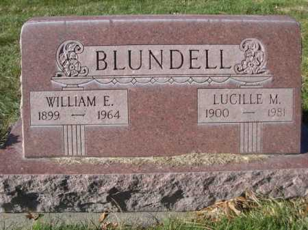 BLUNDELL, WILLIAM E. - Dawes County, Nebraska | WILLIAM E. BLUNDELL - Nebraska Gravestone Photos