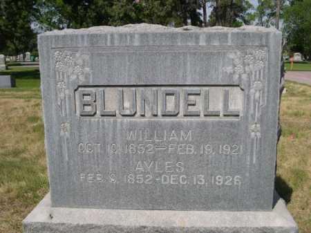BLUNDELL, WILLIAM - Dawes County, Nebraska   WILLIAM BLUNDELL - Nebraska Gravestone Photos