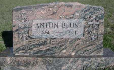 BLUST, ANTON - Dawes County, Nebraska | ANTON BLUST - Nebraska Gravestone Photos