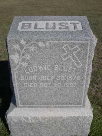 BLUST, LUDWIG - Dawes County, Nebraska | LUDWIG BLUST - Nebraska Gravestone Photos