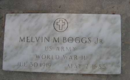 BOGGS, MELVIN JR. - Dawes County, Nebraska | MELVIN JR. BOGGS - Nebraska Gravestone Photos