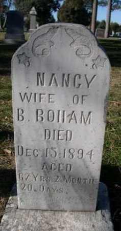 BOHAM, NANCY - Dawes County, Nebraska | NANCY BOHAM - Nebraska Gravestone Photos