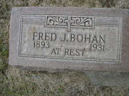 BOHAN, FRED J. - Dawes County, Nebraska | FRED J. BOHAN - Nebraska Gravestone Photos