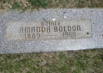 BOLDON, AMANDA - Dawes County, Nebraska | AMANDA BOLDON - Nebraska Gravestone Photos