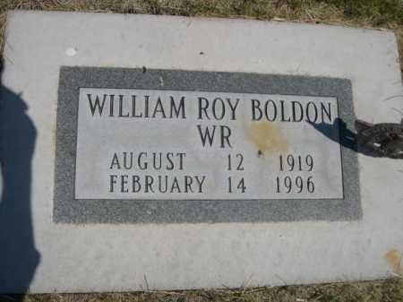 BOLDON, WILLIAM ROY - Dawes County, Nebraska | WILLIAM ROY BOLDON - Nebraska Gravestone Photos