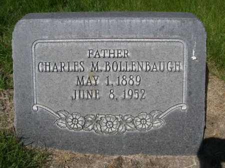 BOLLENBAUGH, CHARLES M. - Dawes County, Nebraska   CHARLES M. BOLLENBAUGH - Nebraska Gravestone Photos