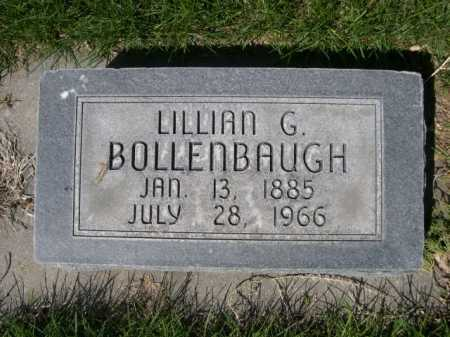 BOLLENBAUGH, LILLIAN G. - Dawes County, Nebraska | LILLIAN G. BOLLENBAUGH - Nebraska Gravestone Photos