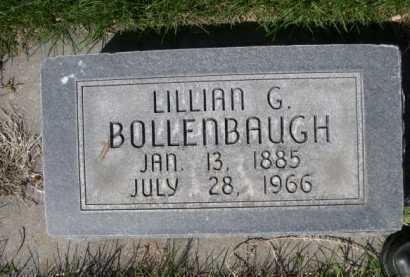 BOLLENBAUGH, LILLIAN G. - Dawes County, Nebraska | LILLIAN G. BOLLENBAUGH - Nebraska Gravestone Photos