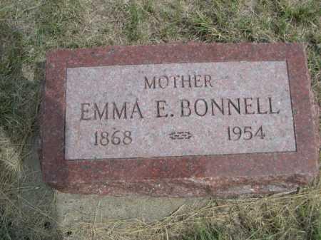 BONNELL, EMMA E. - Dawes County, Nebraska   EMMA E. BONNELL - Nebraska Gravestone Photos