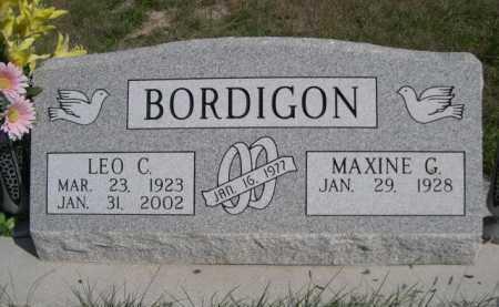 BORDIGON, MAXINE G. - Dawes County, Nebraska | MAXINE G. BORDIGON - Nebraska Gravestone Photos