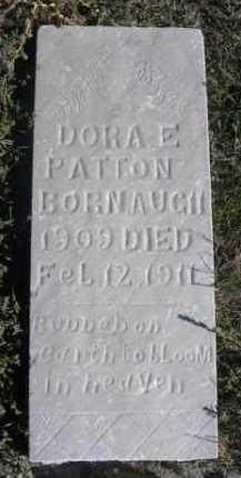 BORNAUGH, DORA E. PATTON - Dawes County, Nebraska   DORA E. PATTON BORNAUGH - Nebraska Gravestone Photos