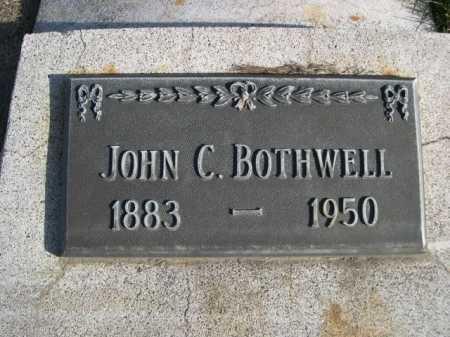 BOTHWELL, JOHN C. - Dawes County, Nebraska | JOHN C. BOTHWELL - Nebraska Gravestone Photos
