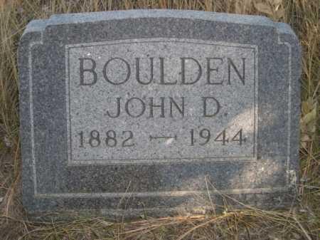 BOULDEN, JOHN D. - Dawes County, Nebraska | JOHN D. BOULDEN - Nebraska Gravestone Photos