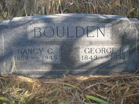 BOULDEN, NANCY C, - Dawes County, Nebraska | NANCY C, BOULDEN - Nebraska Gravestone Photos